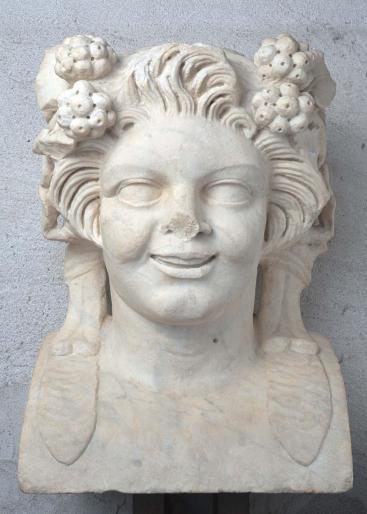 Museo Archeologico di Verona - Interno. Erma in marmo. Satiro giovane (da StudioEsseci)