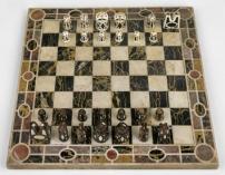 ©Artigianato localeScacchiera, XVI secolo(?)Marmo, 2x38,7x38,7 cmCastello di Ambras, Innsbruc