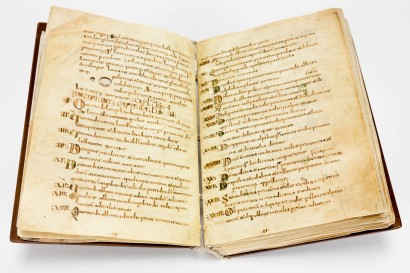 Opening of the facsimile