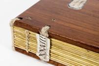Naked binding with shelfmark (XXVIII)