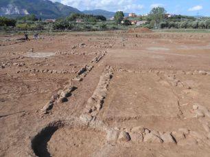 Veduta degli scavi
