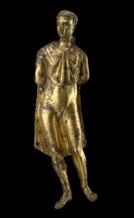 Applique con barbaro prigioniero, Brescia, Santa Giulia. Museo della città
