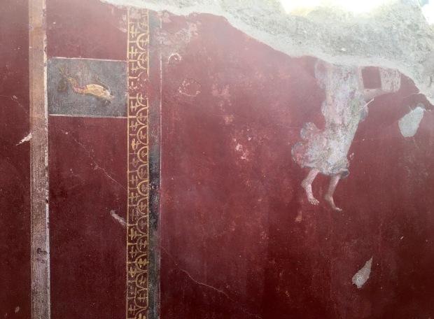 affresco restaurato Schola Armatorarum