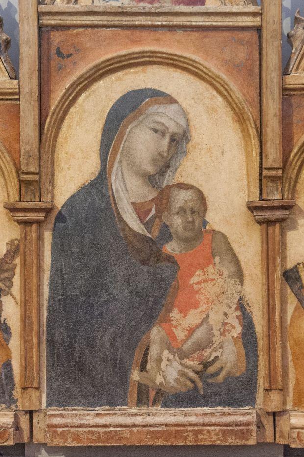 7. Pietro Lorenzetti, Trittico, opart. Gubbio, Palazzo Ducale
