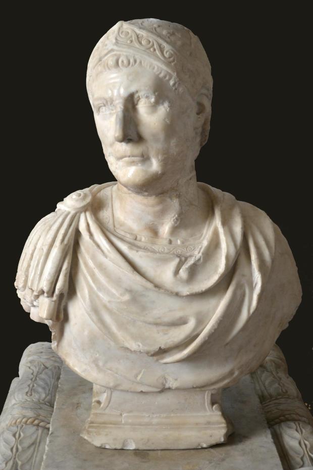 Busto del cosiddetto Annibale, marmo bianco, seconda metà del XVI sec, Segretariato Generale della Presidenza della Repubblica