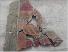 7. Ricomposizione dei frammenti di crollo