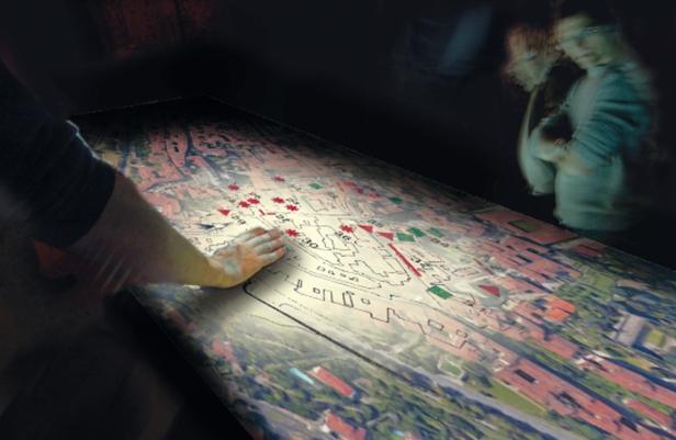 15.rendering tavolo interattivo
