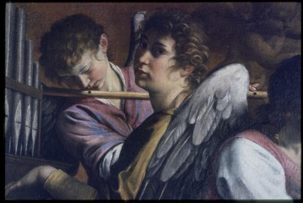 10_Orazio Gentileschi_particolare Circoncisione con Artemisia