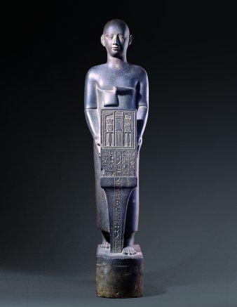 Statua del sacerdote Henat_525-404 a.C.