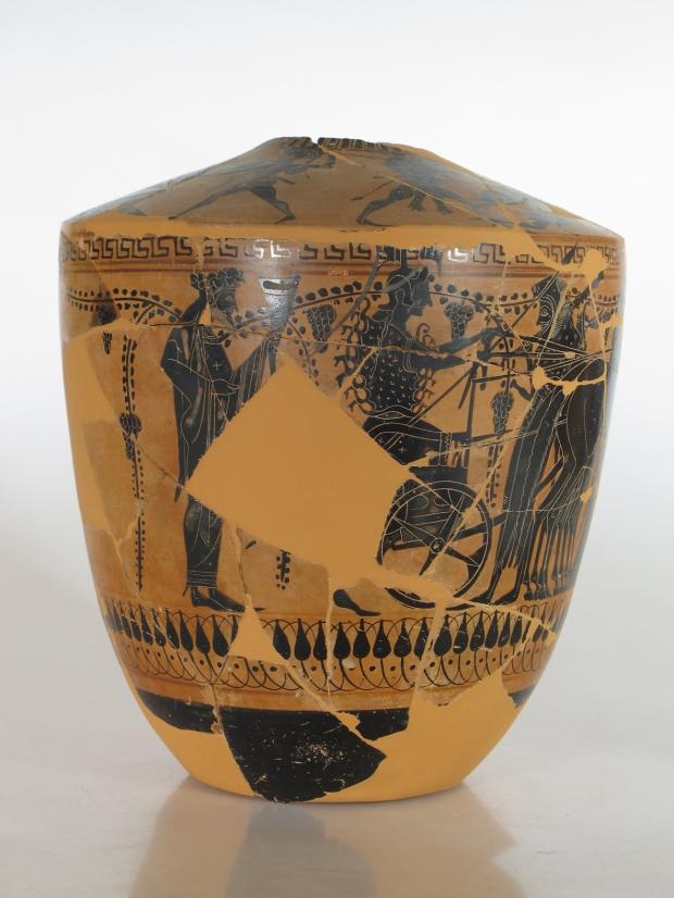 Lekythos di Adria con Atena con scudo di Medusa (VI-V secolo a.C.)