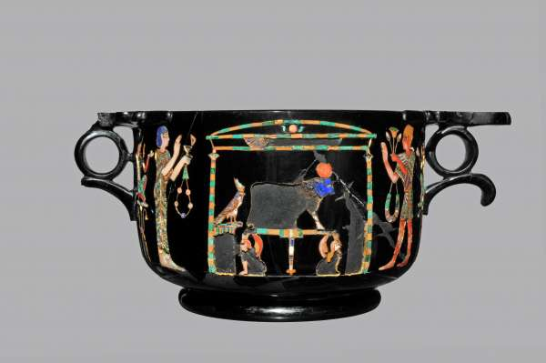 Coppa di ossidiana