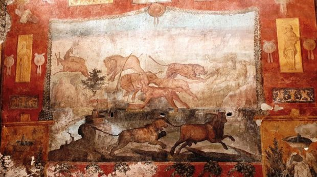 affesco ceii pompei